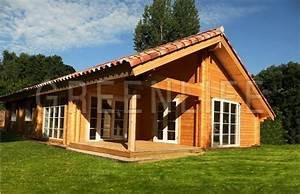 Maison En Bois Nord : maison bois louisa 114 maison bois greenlife ~ Nature-et-papiers.com Idées de Décoration