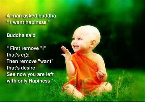 buddha s quote kill ego to acheive happiness