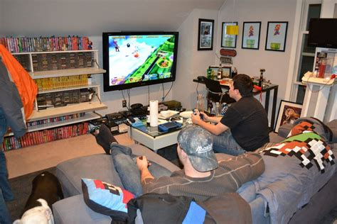 """A Gaming Room For Which The Word """"room"""" Doesn't Really Do"""