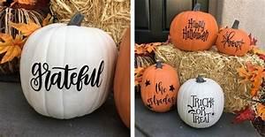 Fall Pumpkin Decal Jane