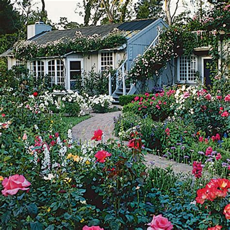 English Country Cottages Cottage Garden Plants And