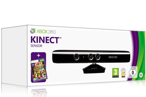 xbox 360 kinect official xbox 360 kinect sensor with kinect adventures xbox 360 co uk pc