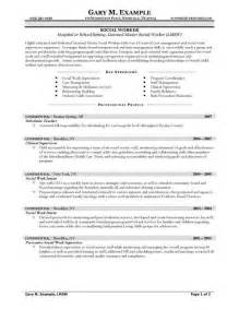 social service worker resume sles cover letter format social work