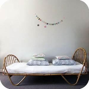 Lit En Osier : habitaciones infantiles artesania del mimbre ~ Teatrodelosmanantiales.com Idées de Décoration