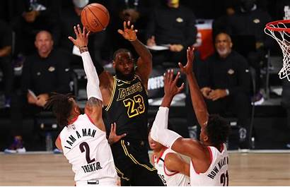 Lakers Lebron Blazers Nba Vote James Team