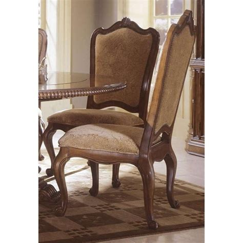 universal furniture upholstered dining chair in villa