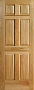 Hickory 6 panel interior doors with raised panels for Hickory interior doors