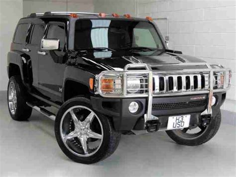 hummer   auto petrol black automatic car  sale