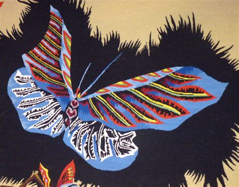 Tapisserie Papillon by Lur 231 At Papillon Feuillage Tapisserie Tapestry