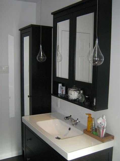 Ikea Mirrors Bathroom by Ikea Hemnes Sink Cabinet Hemnes High Cabinet Mirror Door