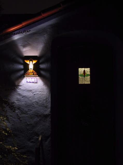 southwest exterior wall sconce lighting by