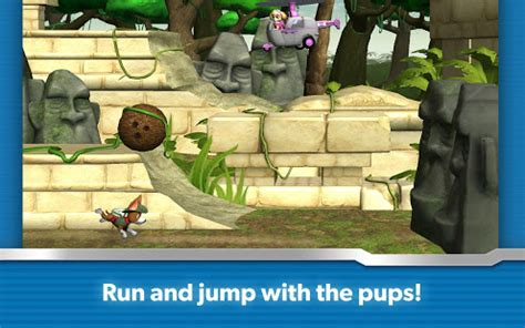 paw patrol rescue run apps  google play