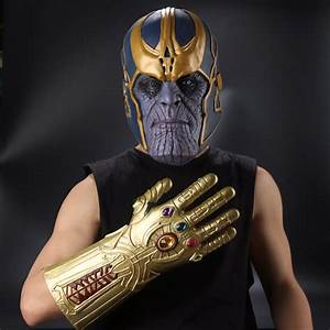 [FREE DELIVERY] Marvel Avengers Infinity War Thanos Latex