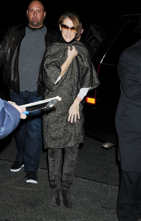 celine dion photos photos celine dion at her nyc hotel