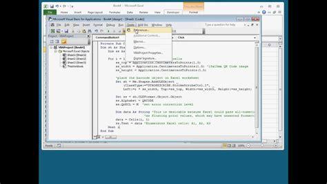 qr codes form worksheet data  excel youtube