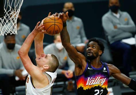No. 3 Denver Nuggets vs. No. 2 Phoenix Suns, Game 2 ...