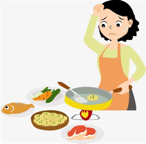 caillou fait la cuisine 煮饭的妈妈素材图片免费下载 高清卡通手绘psd 千库网 图片编号7777529