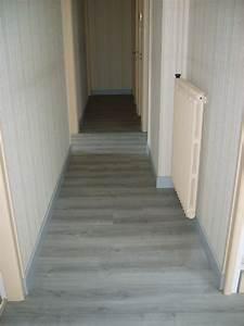 sol parquet et vinyle With parquet couloir
