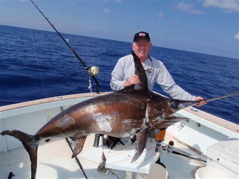 swordfish fishing caught florida billfish sportfishing lb catch hooked report
