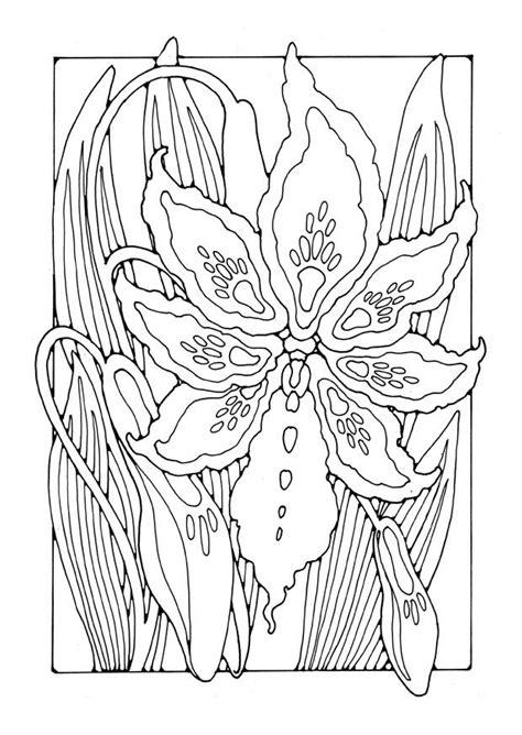 disegno da colorare giglio disegni da colorare