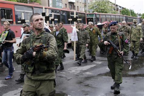 ukraine military fires  mortar shells  donetsk rebels
