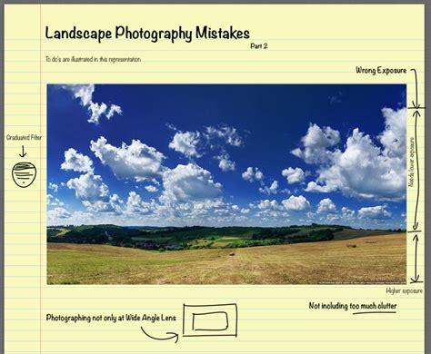 landscape photography mistakes  points