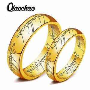 size6 10 one ring of power 18k gold the lord of rings With ring of power wedding band