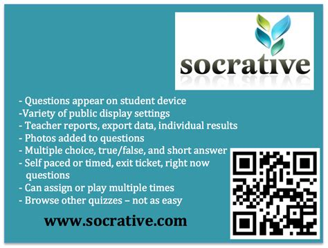 Socrative Garden by Mace 2016 Thinking Ilearn With Ipads