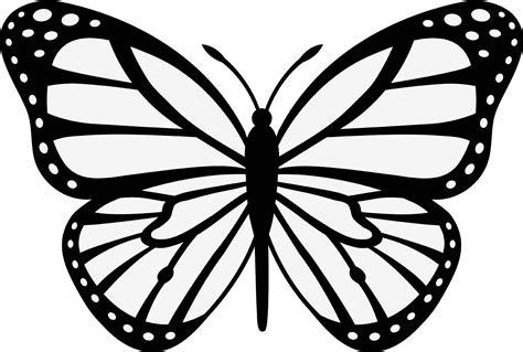 Mewarnai Gambar Sketsa Hewan Kupu-kupu 3