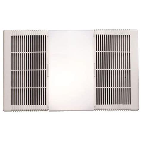 nutone rp  cfm bathroom exhaust fan  heater