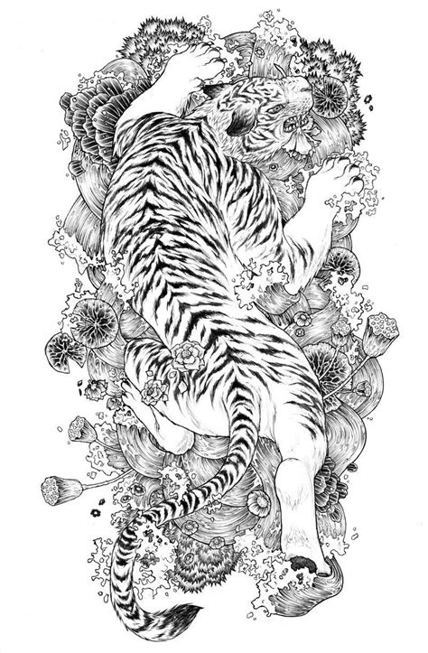 Tiger tattoo Genau das!!!!! Amazing gorgeous beautiful