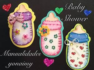 BIBERON O MAMILA PARA BABY SHOWER DE FOAMY O GOMA EVA YouTube
