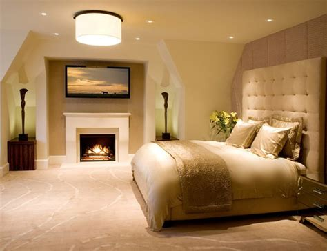 ideas  bring glamour   bedroom  gold