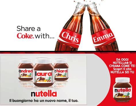 si鑒e social coca cola coca cola e nutella debranding e iniziative social zoorate