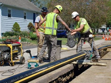 canaan natural gas project move downtown year early