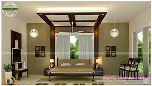 Master bedrooms and kitchen interior - Kerala home design ...