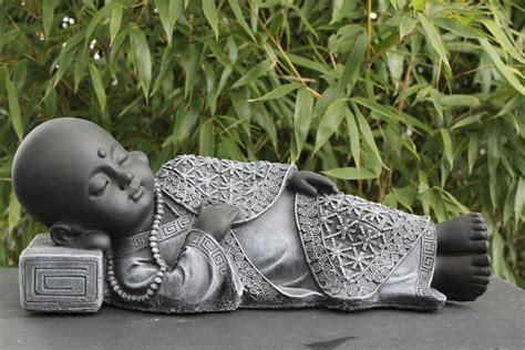 Garten Deko Buddha by Buddha Liegend Figur Deko Garten Stein Figur Statue