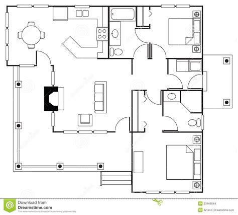 floorplan stock illustration illustration  floor home