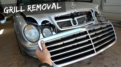 Mercedes W208 W210 Grill Removal Replacement