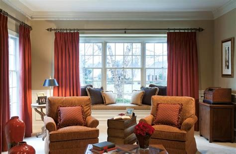Living Room Redesign  Bay Window  Traditional Living