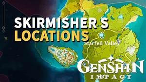 Skirmisher, Genshin, Impact, Location, Youtube