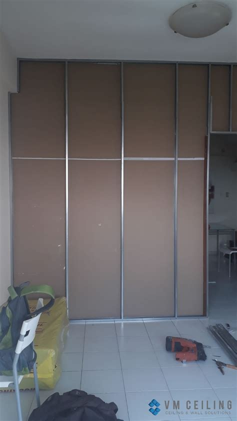 bedroom soundproof partition wall singapore landed house
