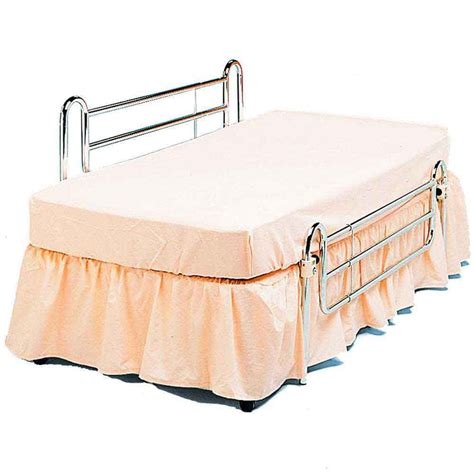 Bed Handrail - chrome bed rails pair vat exempt nrs healthcare