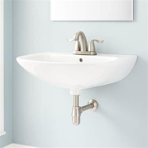 Yidby Porcelain Wallmount Sink Bathroom