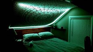 Trippy Bedroom Led Lights Featuring Shpongle