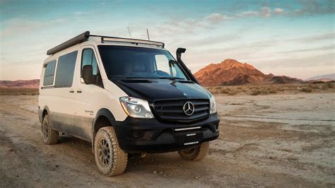 mercedes sprinter 4x4 one of sportsmobile s most popular product lines
