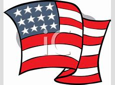 Royalty Free United States Flag Clipart