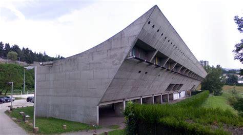 maison de la culture maison de la culture de firminy vert firminy by le corbusier artstreetecture