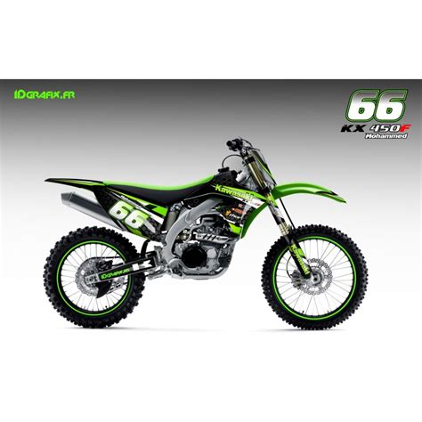 kit deco factory series for kawasaki kx kxf idgrafix