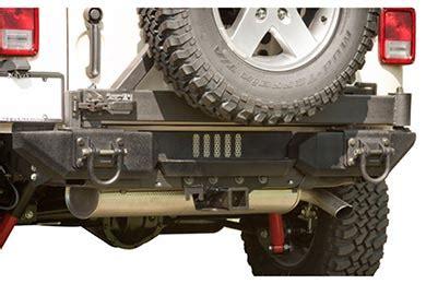 Rugged Ridge Aluminum Bumper rugged ridge aluminum xhd rear bumper system free shipping